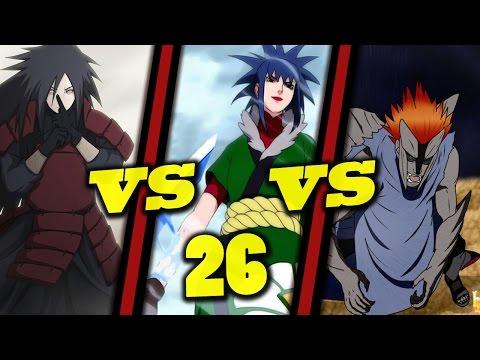 Warcraft III: TFT - Naruto Battle Royal - 26 - Madara vs Guren vs Juugo
