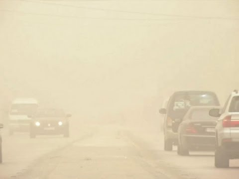 Raw: Massive Sandstorm Hits Middle East