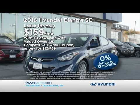 Hyundai Spring Sales Event On Now At Towne (May 2016)