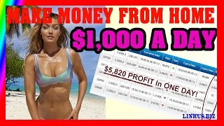 How To Make Money Online From Home - Earn Money Fast $1,000 Per Day Case 4