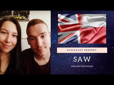 Nauka Angielskiego. Slowko Na Dzis: SAW. Angielski Online Darmo (english Online For Free)