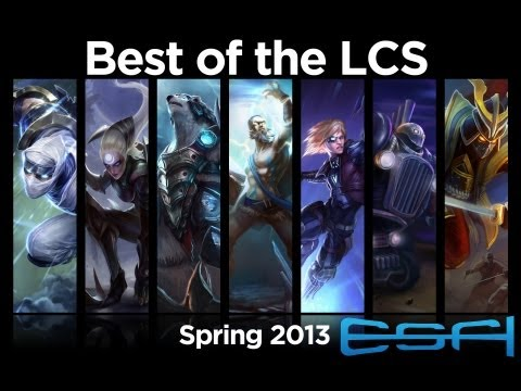 League of Legends Best of the 2013 Spring LCS