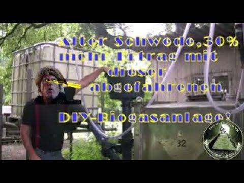SUPERBIOGAS MASCHINE nach DANTAN +30%GAS