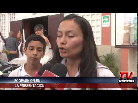 ECOFASHION EN EL COLEGIO DE LA PRESENTACIÓN.