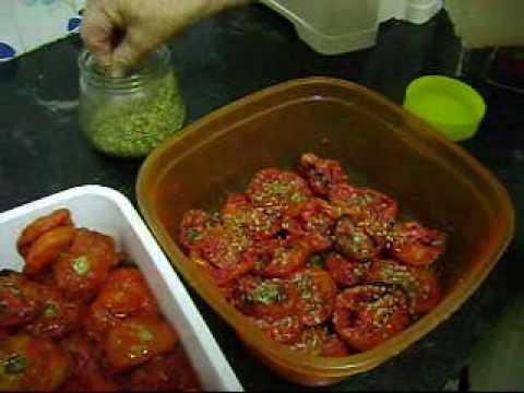 νόστιμα λιαστές ντομάτες