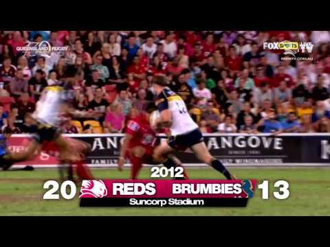 Reds winger Rod Davies previews Brumbies Rd.10 | Super Rugby Video - Reds winger Rod Davies previews