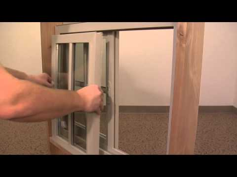 How to Replace a Vinyl Sliding Window Sash