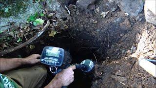 Metal Detecting And Cave Digging