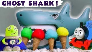 Learn Colors with Play Doh Ice Cream Thomas The Train a Shark and Funlings Super Funling TT4U