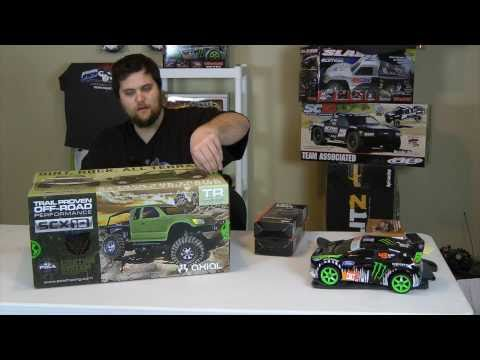 Axial SCX10 Trail Honcho Crawler Unboxing & First Review