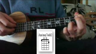 Stairway To Heaven Tutorial (Led Zeppelin)  Ukulele Chords - Acordes Ukelele