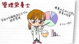 職業紹介【管理栄養士篇】~将来の仕事選びに役立つ動画