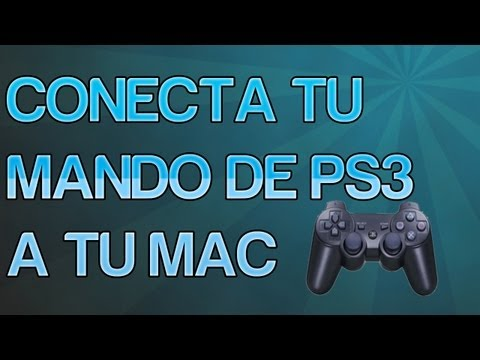 Como conectar tu mando de PS3 a tu MAC por cable y por bluetooth [Full HD]