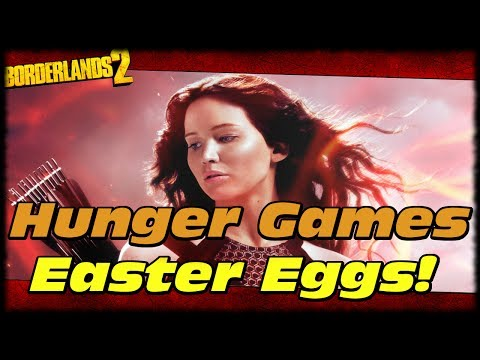 Borderlands 2 The Hunger Games Catching Fire Easter Eggs In Wattle Gobbler Head Hunter DLC!