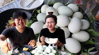 Cực hài: Thách thức 20 trứng hột vịt lộn với chàng trai Hàn Quôcs và hình phạt cực có 1 không 2