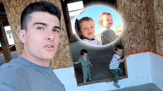 Showing Our Kids New House Tour!