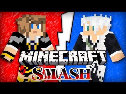 Minecraft Smash : Frigiel vs Ectalite !