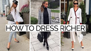 16 Fool-Proof Fashion Secrets to Dress Richer