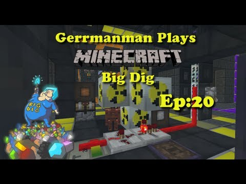 Minecraft Big Dig Ep:20 Bee Progress