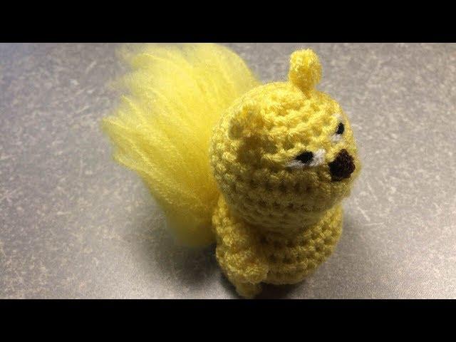 Белочка. Часть 3(3). Вязание крючком. Амигуруми. Squirrel Crocheting. Part 3(3). Amigurumi