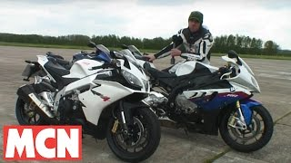Speed test_ S1000RR v RSV4 v Hayabusa v ZZ-R1400