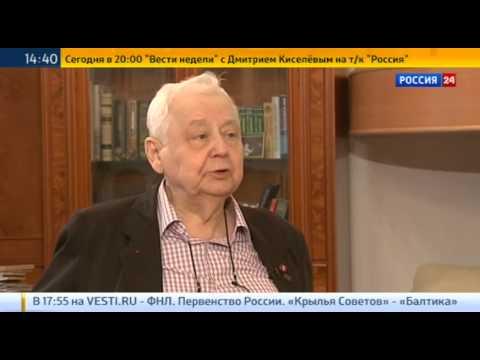 Олег Табаков: Крым не имеет никакого отношения к Украине
