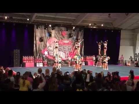 Cheer Sport Great White Sharks CFTC 2014 Day 1