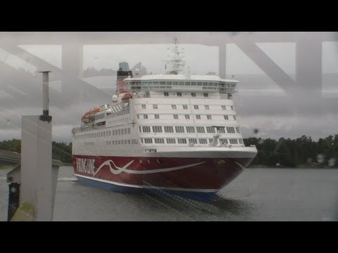 Uplifting Marine Tour on Viking Line M/S Amorella - nice DAN Elevators