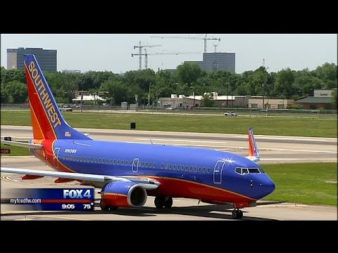 Southwest Airlines celebrates imminent end of Wright Amendment