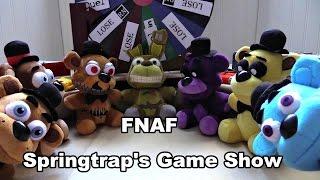 "FNAF plush Episode 28 - Spring traps Game show ""Freddy vs Freddy"""