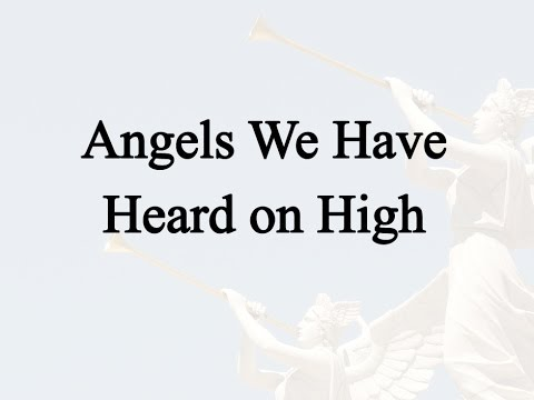 Angels We Have Heard On High (Hymn Charts with Lyrics, Contemporary)