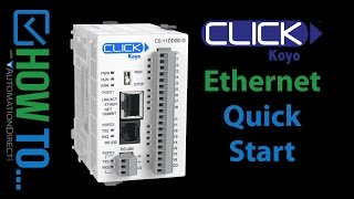 CLICK Ethernet PLC - Quick Start