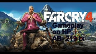FAR CRY 4 GAME PLAY ON HP PAVILION NOTEBOOK AB-219 TX + free torrent download link