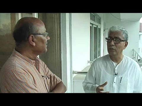 Walk The Talk with Tripura chief minister Manik Sarkar