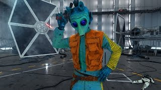 Star Wars Battlefront: Heroes vs Villains Greedo Ace!
