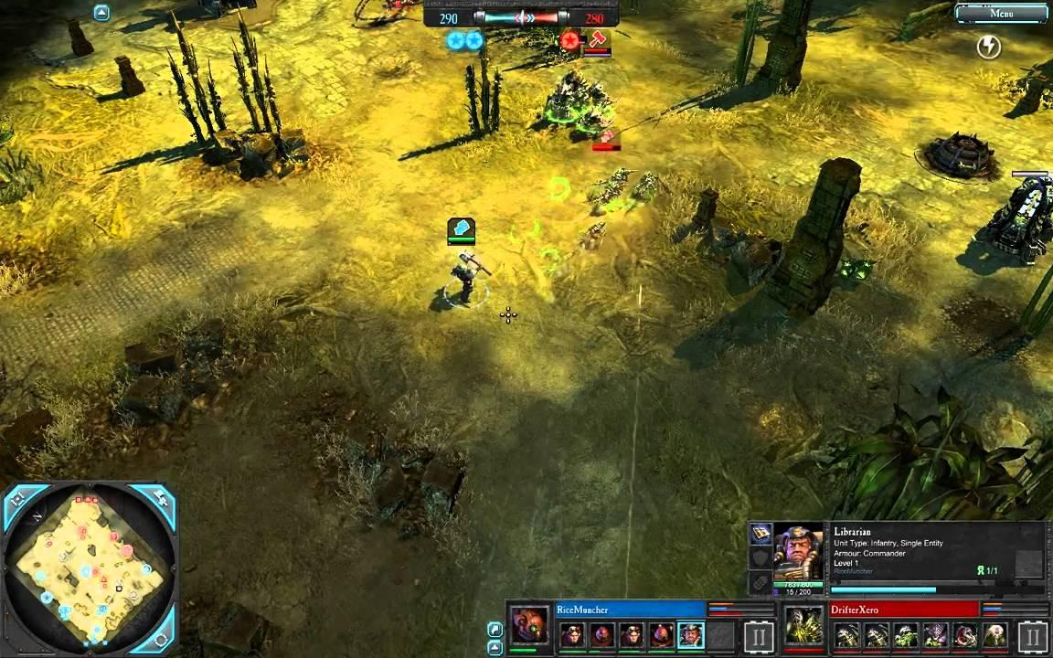 Warhammer, 40000, dawn of war, dark crusade, rus, эльдар, bers, bersys