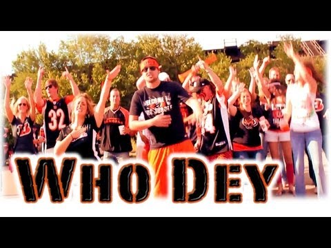 Cincinnati Bengals Song & Video - The Jungle's Back (Who Dey) by Surreal - BlackliteProductions.com
