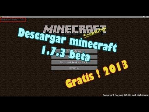Como descargar minecraft 1.7.4 (ultima version de minecraft) Crackeado en español