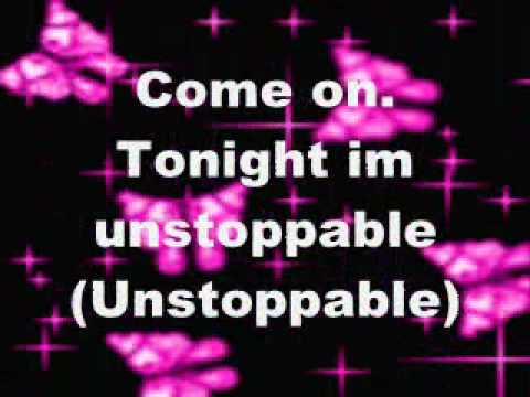 China Anne Mcclain-unstoppable Lyrics video