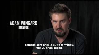 Bruxa de Blair - Entrevista com o diretor Adam Wingard