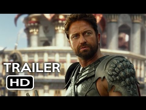 Gods Of Egypt Official Trailer #1 (2016) Gerard Butler Fantasy Movie HD - Zeii Egiptului