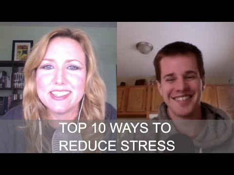 #100 Top 10 Ways to Reduce Stress with Evan Brand