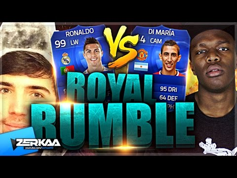 Zerkaa Vs Ksi | Toty Royal Rumble | Fifa 15 Ultimate Team video