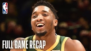 NBA Highlights: Jazz vs. Wizards | Utah Assists On 35 Of Their 49 Made Field Goals | March 18, 2019