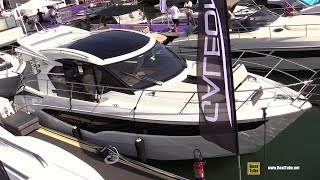 2019 Galeon 370 HTC Yacht - Deck and Interior Walkaround - 2018 Cannes Yachting Festival