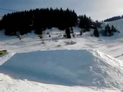 monte bondone snowpark 360°