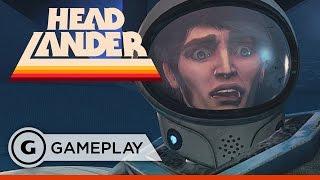 Headlander - Defend the Rogue Eye Gameplay