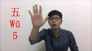 Thinkttt Clip Chinese Number ตัวเลขจีนและสัญญาณมือตัวเลขจีน