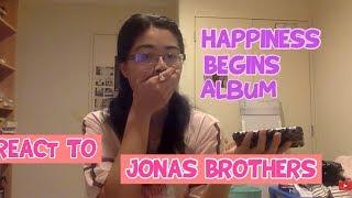 Happiness Begins (Jonas Brothers): Album Reaction- Sheree Chinn