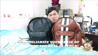 Buying a Legit Coach Backpack Online and During Meetups!!
